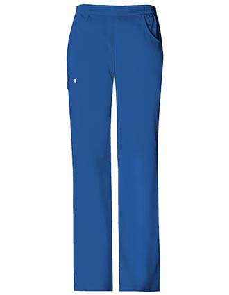 Cherokee Luxe Womens Three Pockets Pull On Scrub Pants-CH-1067