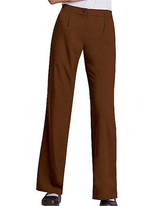 Cherokee Touch Women Two Pocket Flat Front Medical Scrub Pants