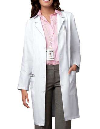 Cherokee Whites Unisex 40 inch Long Medical Lab Coat-CH-1346