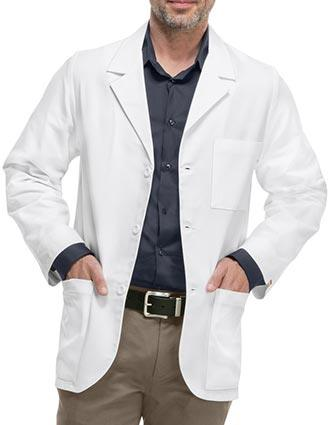 Med-Man Professional Whites with Certainty Men's Consultation Lab Coat