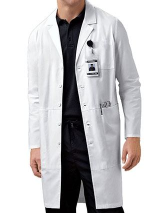 Cherokee Unisex 40 inch Notch Lapel IPAD Medical Lab Coat-CH-1424