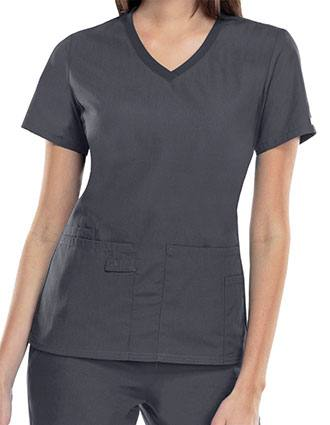 Cherokee Pro-Flexibles Womens Multipocket V-Neck Nursing Scrub Top-CH-1909