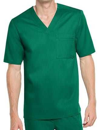Cherokee Luxe Men's V-Neck Scrub Top-CH-1929