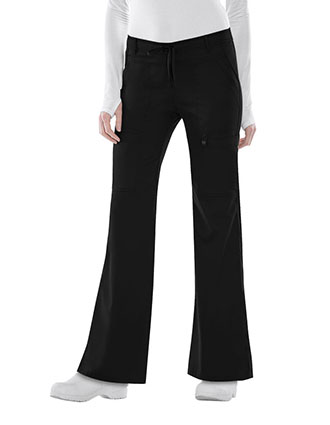 Cherokee Luxe Junior Low Rise Flare Drawstring Pants-CH-21100