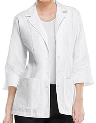 Cherokee Women Two Pocket Three Quarter 29 inch Short Lab Coat-CH-2330