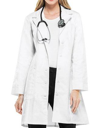 Cherokee Womens Two Pocket 36 Inches Long Medical Lab Coat-CH-2410
