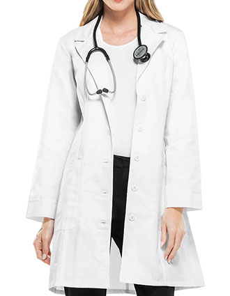 Cherokee Womens Two Pocket 36 Inch Long Medical Lab Coat-CH-2410