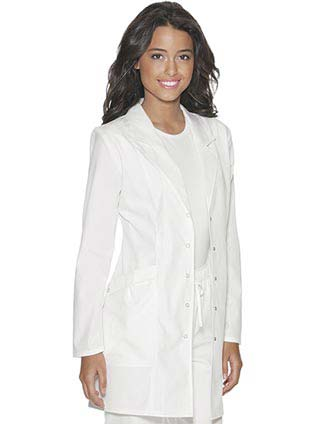 Baby Phat Womens 33.5 inch Short Medical Lab Coat