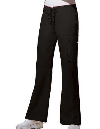 Cherokee Studio Women Two-Pocket Low Rise Flare Scrub Pants-CH-3020