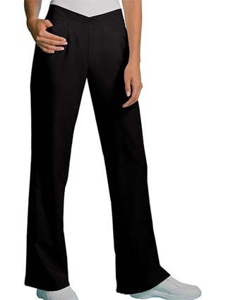Cherokee Bamboo Planet Womens Two Pocket Flat Front Scrub Pants-CH-3129