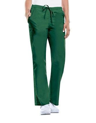 Cherokee Workwear WW Flex Unisex Tall Natural-rise Drawstring Pant