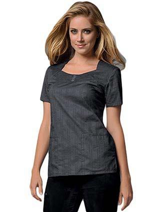 Buy Runway Women Cotton Square Neck Nursing Scrub Top For