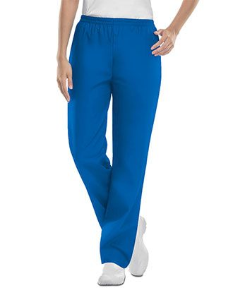 Cherokee Workwear Womens Tall Elastic Waist Pants
