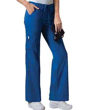 Cherokee Workwear Women Low Rise Drawstring Pants-CH-4003