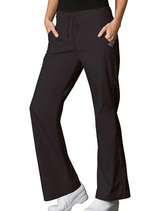 Cherokee WorkWear Womens Smocked Waist Medical Scrub Pants-CH-4004