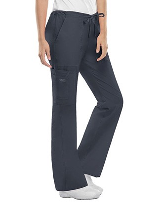 Cherokee Workwear Womens Drawstring Scrub Pants-CH-4044