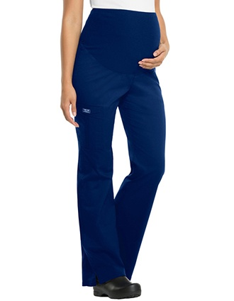 Workwear Premium Maternity Pull-on Nurse Scrub Pants-CH-4208