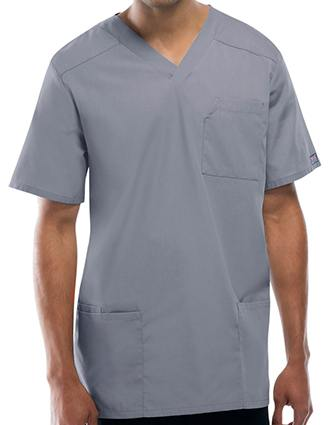 Cherokee Workwear Four Pocket Unisex V-Neck Scrub Top-CH-4701