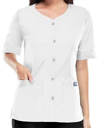 Cherokee Workwear Womens V-Neck Scrub Top
