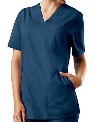 Cherokee Workwear Unisex Three Pockets V-Neck Top-CH-4780