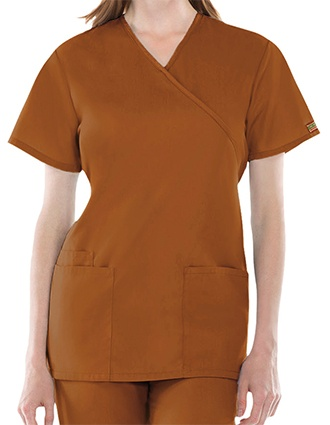 Cherokee Workwear Womens Three Pocket Scrub Top-CH-4801