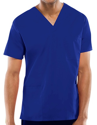 Cherokee Workwear Unisex Three Pocket Scrub Top-CH-4876