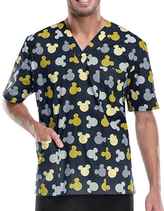 Tooniforms Disney Unisex V-neck Top