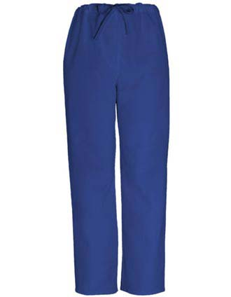 Clearance Sale Unisex Drawstring Scrub Pants in Royal