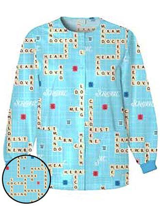 Clearance Sale! Cherokee Women Colored Warm-Up Scrub Jacket