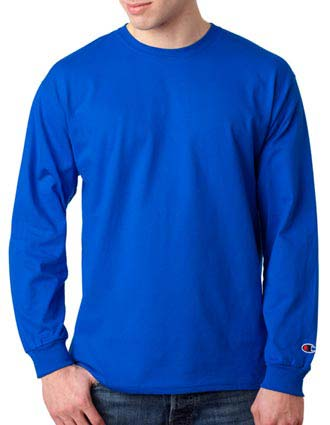 CC8C Champion Adult Long-Sleeve T-Shirt-CH-CC8C