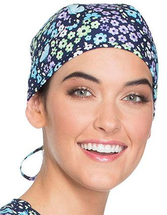 Cherokee Scrub Hats Unisex Love The Way You Fly Print Unisex Scrub Hat