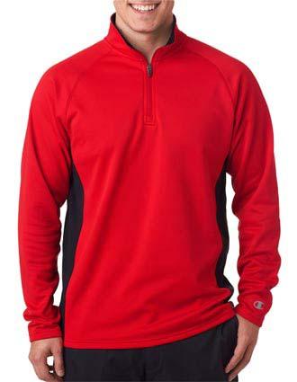 Champion Adult Performance Color Block 1/4-Zip Jacket-CH-S230