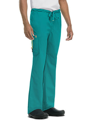 Men's Drawstring Cargo Pant-CO-16001A