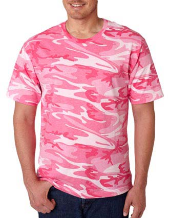3906 Code V Adult Camouflage T-Shirt-CO-3906
