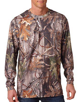 Code V Adult REALTREE Camouflage Long-Sleeve T-Shirt-CO-3981