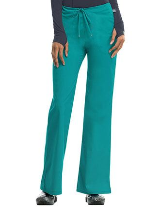 Code Happy Antimicrobial Women's Mid-rise Drawstring Pant-CO-46002A