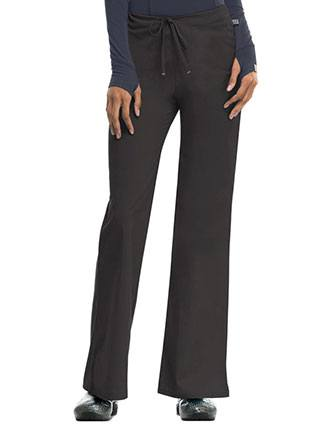 Code Happy Petite Antimicrobial Women's Mid-rise Drawstring Pant