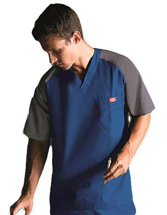 Dickies EDS Men Single Pocket Raglan Scrub Top-DI-816107