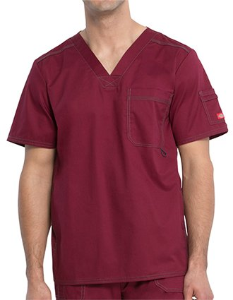 Dickies GenFlex Mens Youtility V-Neck Four Pocket Top-DI-81722