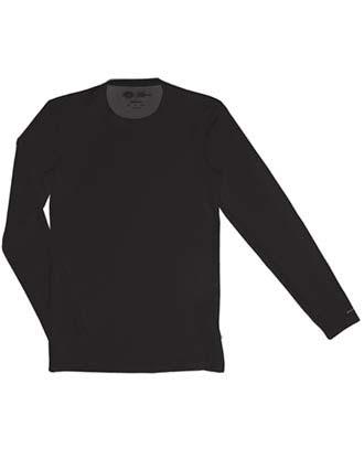 Dickies Performance System Men's Long Sleeve Crew Neck Scrub Shirt-DI-81925