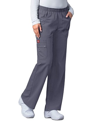 Dickies Xtreme Stretch Junior Elastic Waist Pull On Scrub Pants-DI-82012