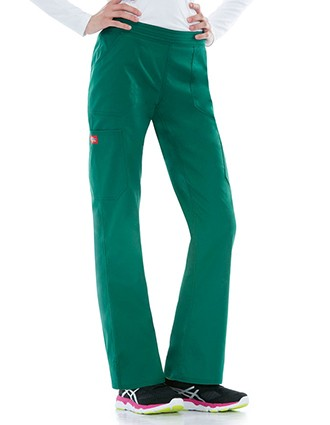 Dickies EDS Signature Stretch Women's Mid Rise Moderate Flare Leg Pull-on Tall Pant