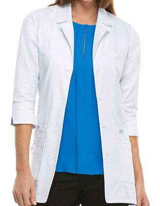 Dickies EDS Junior 30-Inch White Medical Lab Coat