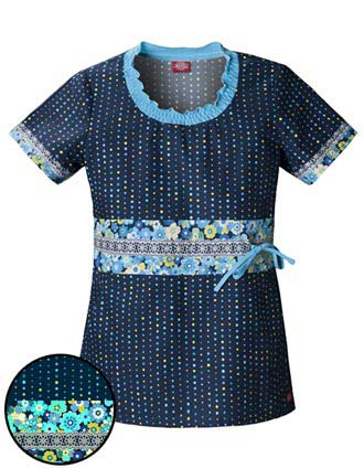 Buy Dickies Junior Fit Smocked Round Neck Zoom Into Bloom