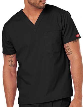 Dickies Unisex EDS Signature V-Neck Nursing Scrub Top-DI-83706