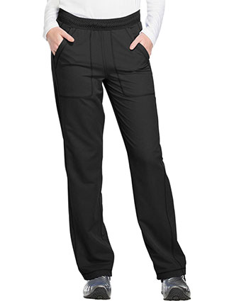Dickies Dynamix Women's Mid Rise Straight Leg Pull-on Pant