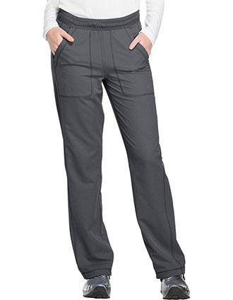 Dickies Dynamix Women's Mid Rise Straight Leg Pull-on Tall Pant