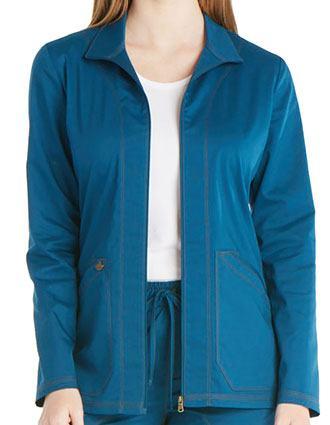 Dickies Essence Women's Zip Front Warm-up Jacket