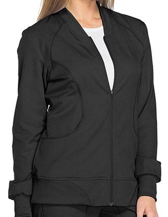 Dickies Dynamix Women's Zip Front Warm-up Jacket