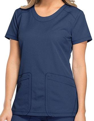 Dickies Dynamix Women's Rounded V-Neck Nursing Top
